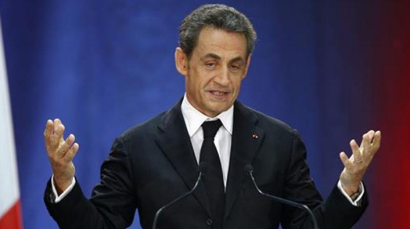 Sarkozy, 61, is expected to lead a campaign based on hardline ideas on immigration and security in a country marked by recent terror attacks. (Photo: AP)