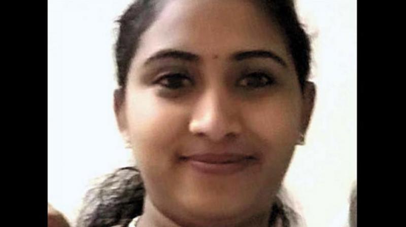 Pregnant Kerala nurse Chikku Robert was stabbed to death in Oman. (Photo: Twitter)