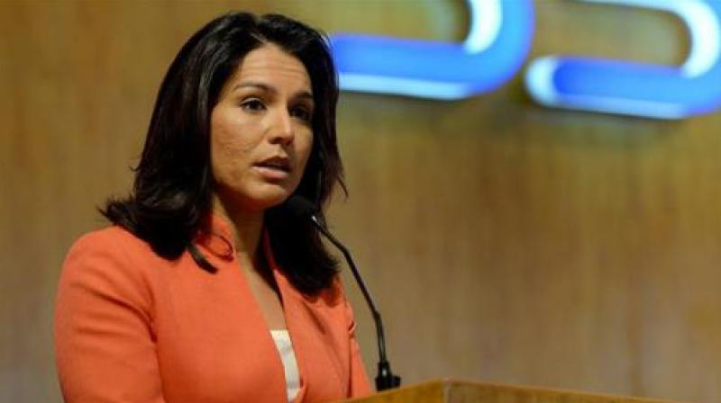 Tulsi Gabbard, 38, who declared her presidential bid last year, is a favourite of the Indian-Americans mainly because of her being a Hindu. (Photo: File)