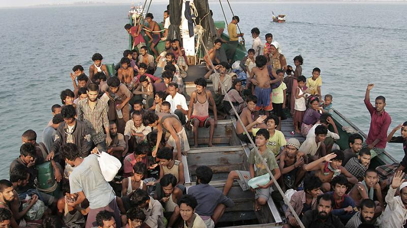 Myanmar Decries Demotion On Us Human Trafficking Blacklist-2515