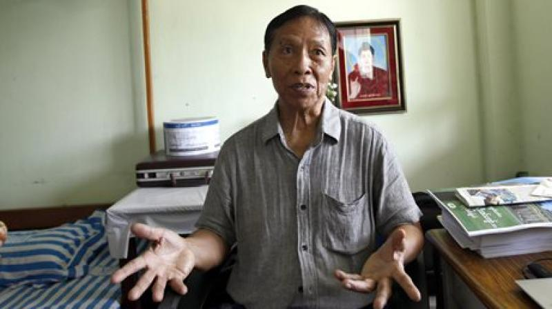 National League for Democracy (NLD) leader Kyaw Win. (Photo: AP)