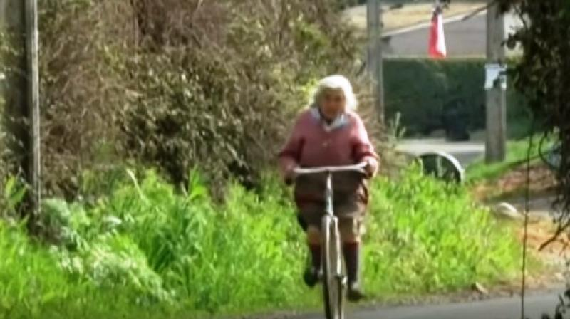 """Without my bicycle, I have no life"" (Photo: YouTube)"