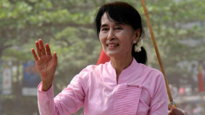 Aung San Suu Kyi (Photo: AP)