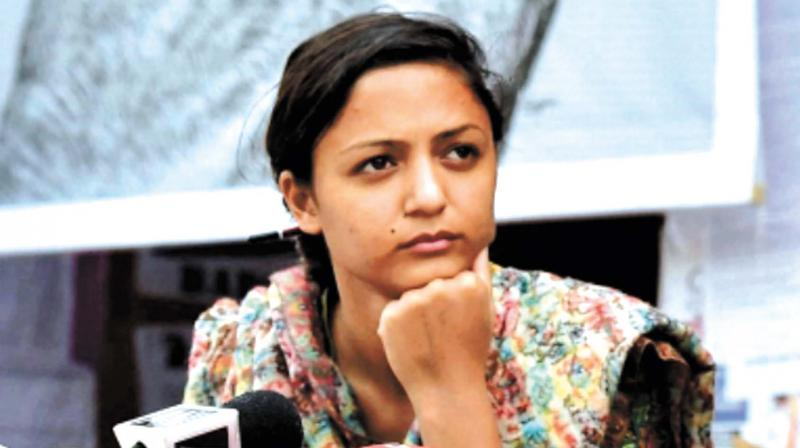 Rashid said she learnt from media reports that the Special Cell of the Delhi Police had filed an FIR against her 'for speaking out on the clampdown in Kashmir and the denial of basic rights to Kashmiris'. (Photo: File)