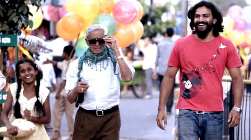 Still from short movie, Jayanagar 4th block