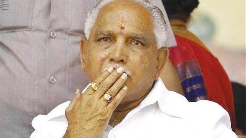 BJP Karnataka unit President B S Yeddyurappa (Photo: PTI/File)