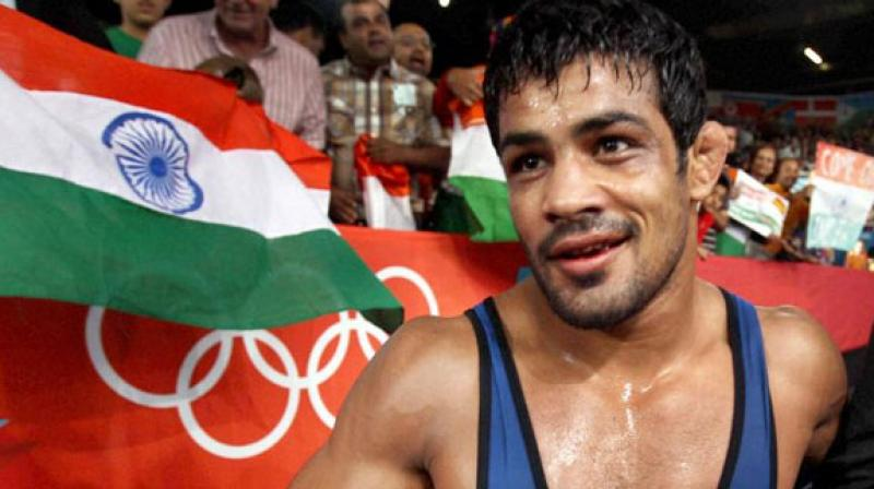 Sushil Kumar's fight for an Olympic berth suffered another blow on Wednesday with the Wrestling Federation of India (WFI) strongly hinting that they would prefer Narsingh Yadav for Rio. (Photo: PTI)