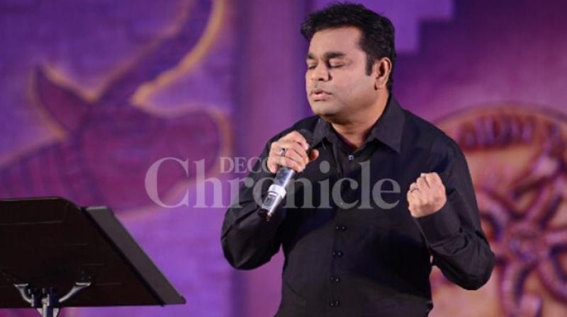 A R Rahman also sang a few lines of 'Tu Hai' from the film at a promotional event.