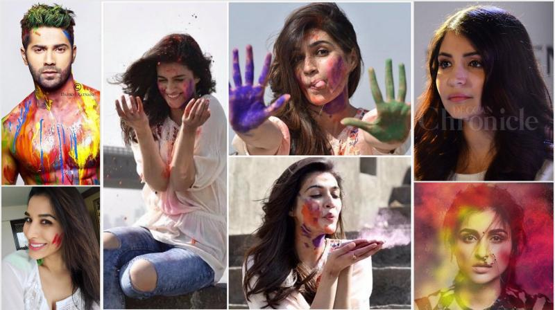 Anushka, Parineeti, Alia and others urge their fans to save water by playing dry Holi.