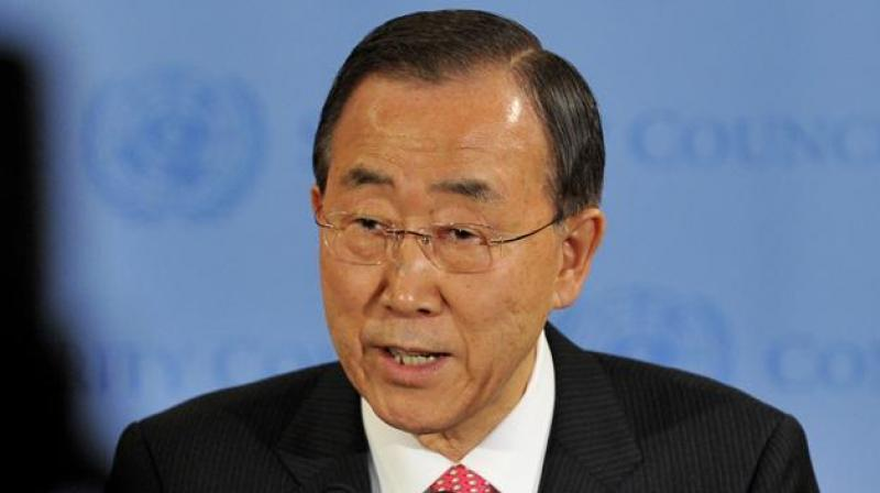 United Nations Secretary General Ban Ki-moon has offered to act as a mediator between India and Pakistan. (Photo: AP)