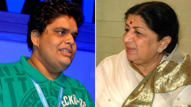 Titled 'Sachin v/s Lata Civil War', Tanmay Bhat took jibes at Lata Mangeshkar and Sachin Tendulkar.
