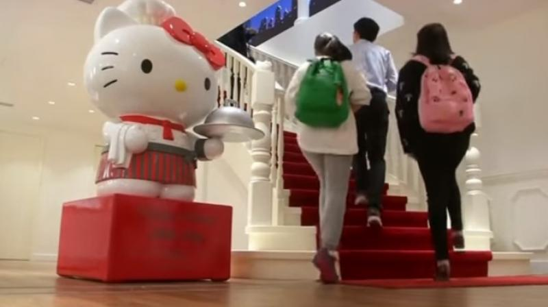bbf51da8f Hello Kitty Bistro Bianco comes after the opening of Hong Kong's official Hello  Kitty restaurant last