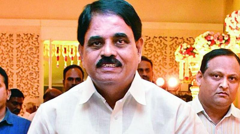 Andhra Pradesh Information Technology and NRI Affairs Minister Palle Raghunatha Reddy (Photo: PTI)