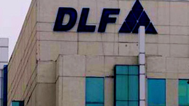 DLF had last week reported 46 per cent fall in profit at Rs 98 crore and 30 per cent dip in net sales to Rs 2,058 crore in the quarter ended December.