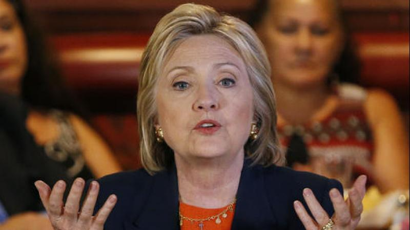 Democratic presidential candidate Hillary Clinton (Photo: AP)