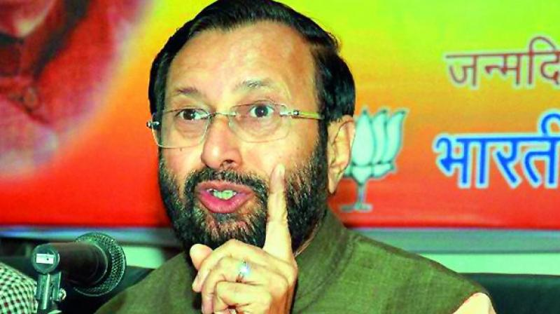 Javadekar held Pakistan responsible for the current turmoil in the Valley. (Photo: File)