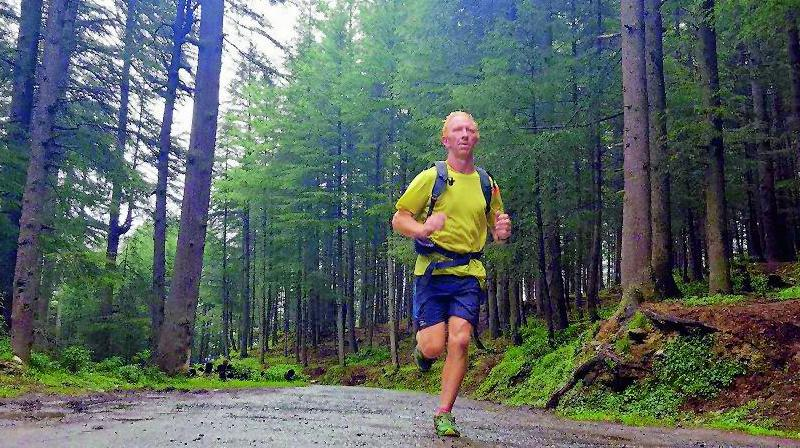 Last year, Peter ran over 1,000 km in the Himalayas and there was a 500-km run through Ladakh.