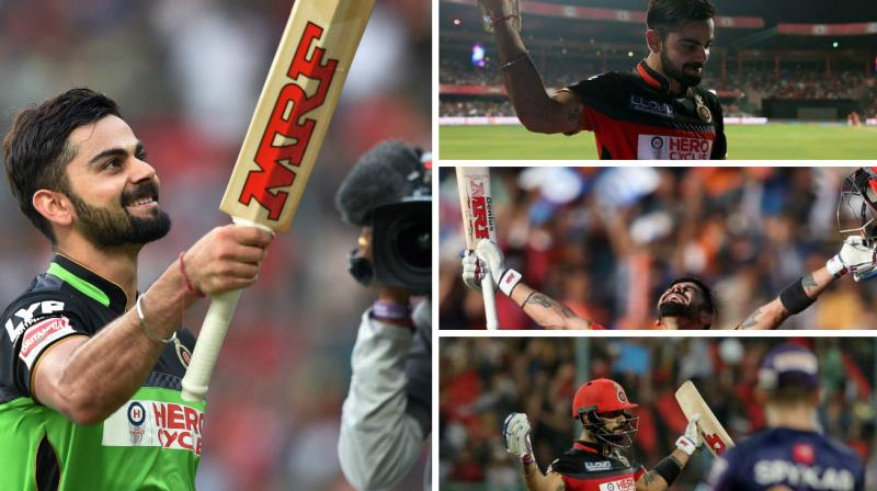 Royal Challengers Bangalore skipper Virat Kohli's purple patch started in January 2016 in Australia. (Photos: BCCI / PTI)