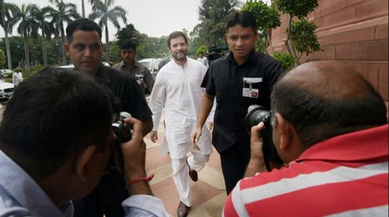 Congress Vice President Rahul Gandhi will defend these remarks at appropriate forum, says Congress. (Photo: PTI)
