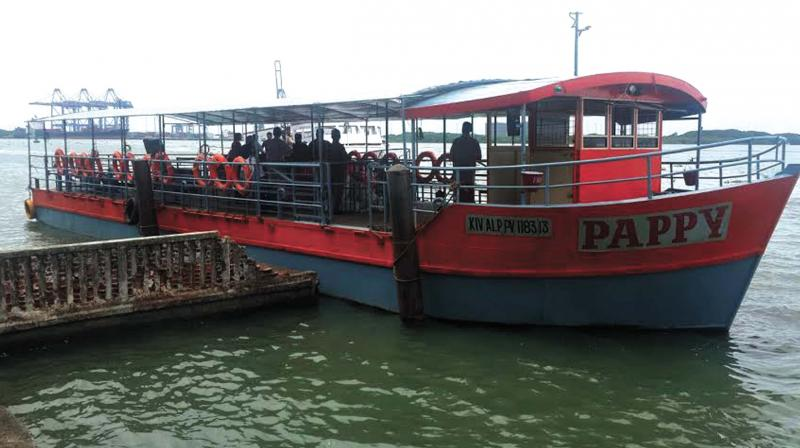 Ferry Boat 'Pappy' currently conducting service in the route on a temporary basis. (Photo: DC)