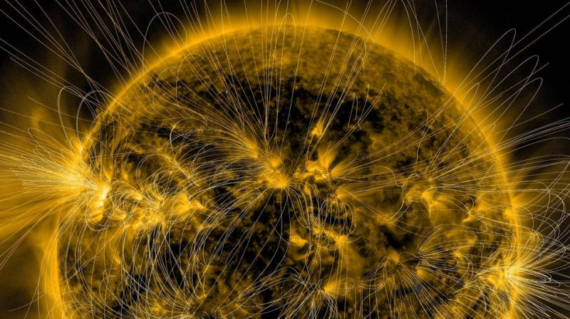 A protective magnetic field was one of the necessary ingredients that helped life thrive on Earth. (Representational image)