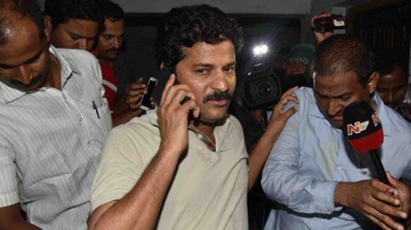 Why Revanth Reddy was arrested?