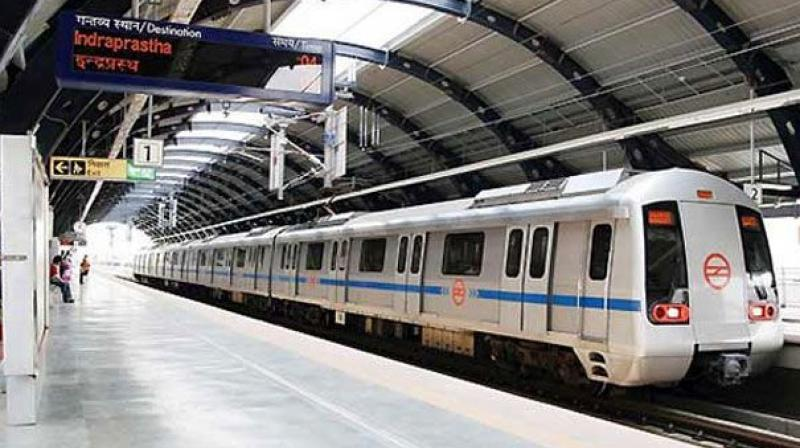 A senior Delhi Metro Rail Corporation (DMRC) official confirmed that the incident took place at the Moti Nagar station. (Representational Image)