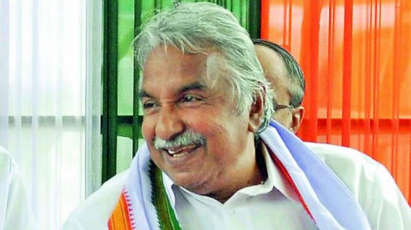 Chandy, who has represented the constituency 10 consecutive times in the Assembly, is once again trying his luck from Puthupally in the central Travancore district of Kottayam. (Photo: PTI)
