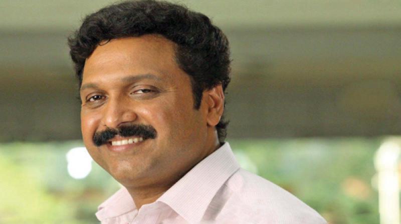 Sitting MLA of Kerala Congress(B), K.B. Ganesh Kumar.
