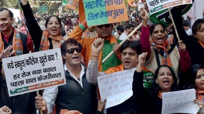Arvind Kejriwal completes 1 year in office: BJP observes
