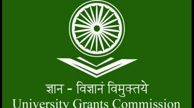 University Grants Commission logo
