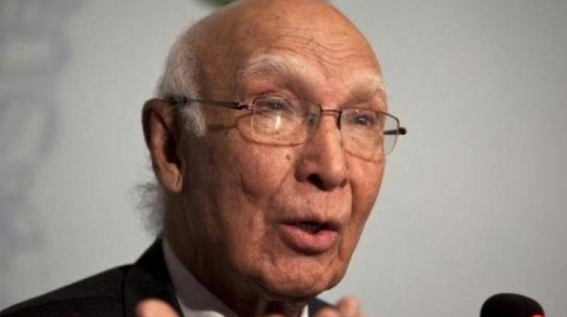 Sartaj Aziz (Photo: PTI)
