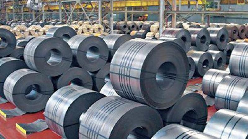 As per government data, steel imports declined by 41 per cent to 0.546 million tonnes (MT) in May this year compared to the year-ago period.