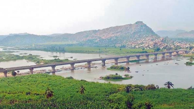 The 487.5-metre bridge, being built at  a cost of Rs 32 crore  by KNR Constructions (Representational Image)