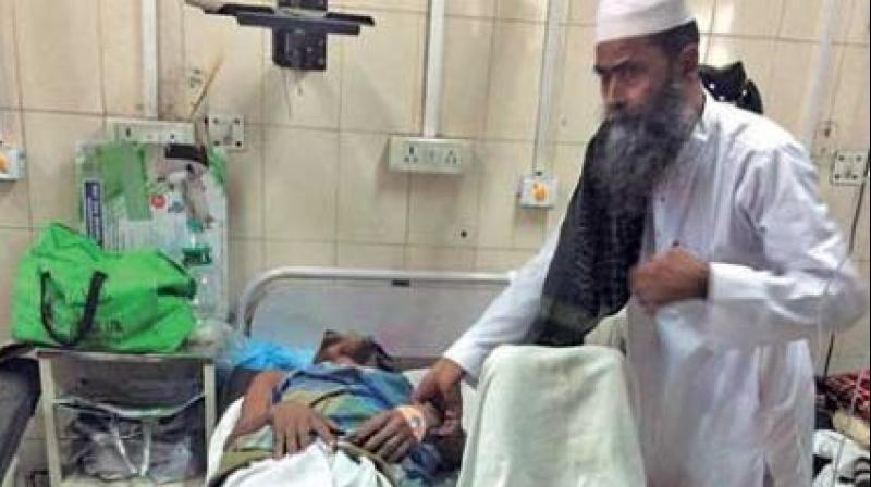 he two were admitted to a hospital where their condition was critical. (Photo: DC)