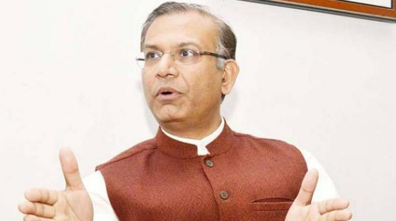 Minister of State for Finance Jayant Sinha (Photo: PTI)