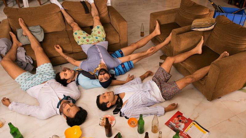 Featuring the sitcoms lead cast- Suhail Nayyar, Tarun Jain, Siddhant Chaturvedi and Abhishek Saha.