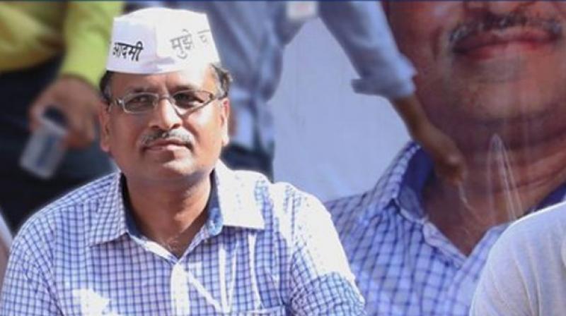 Delhi Health Minister Satyendra Jain (Photo: PTI)