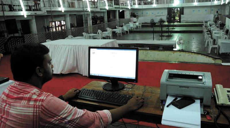 The office of the Chief Electoral Officer has invited students of universities, professional courses,  software engineers and others having laptops to participate in the process of elections by webcasting the process of polling at booths on December 7 at different places in the state. (Representational image) (Photo: ARUNCHANDRA BOSE)