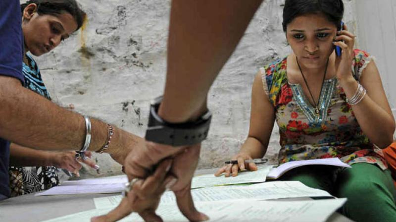 Students who have passed their SSLC exams this year apply for a certificate through the online process, but students who passed the examination before 2018 must obtain the migration certificate in person. (Representational Image)