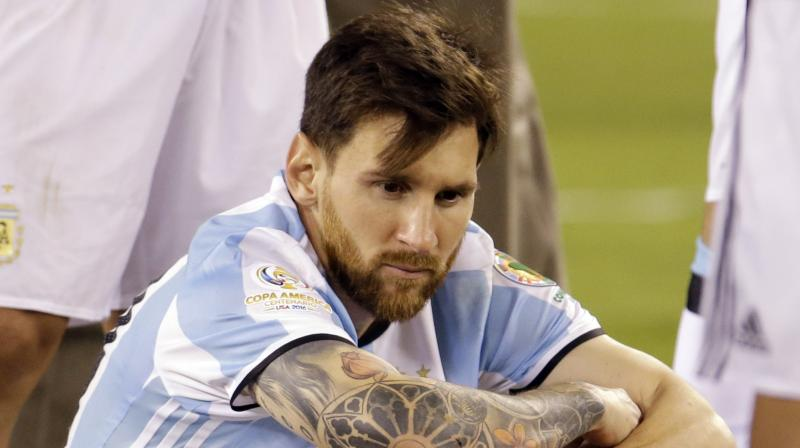 Lionel Messi retires from international football with immediate effect. (Photo: AP)