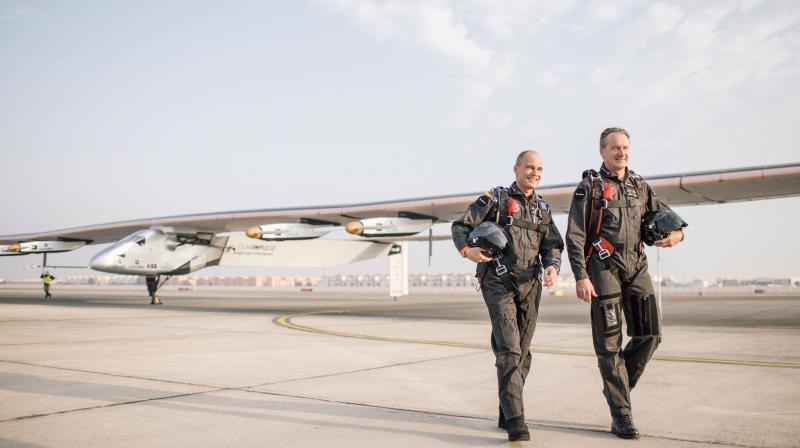 The 63-year-old smashed the previous record for the longest non-stop solo flight of 76 hours and 45 minutes set by US adventurer Steve Fossett in 2006.