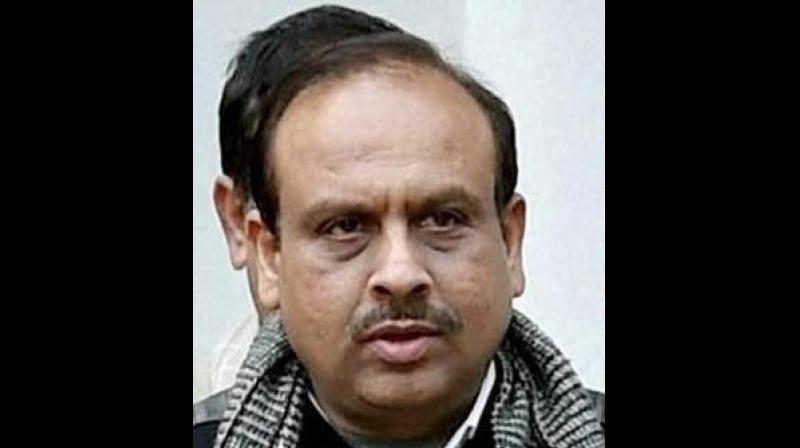 'This is sad that Kejriwal is playing below-the-belt politics. He has been cheating Delhi people and blackmailing them emotionally for long,' BJP leader Vijender Gupta said. (Photo: PTI)