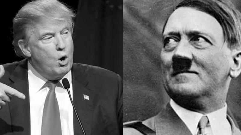"Trump is exploiting the social fears ""that in his time Hitler himself did,"" Calderon told reporters. (Photo: AP)"
