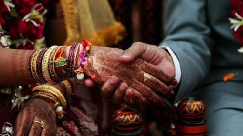 The couple registered their marriage at a local court in Ratlam town on Saturday and tied nuptial knot at the Ram temple on Sunday.  (Representational image)