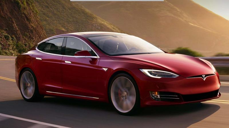 The Tesla Model S promises to go from 0-60 mph in 2.4 seconds.