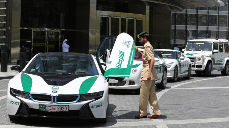 Dubai Police Lt. Saif Sultan Rashed Al Shamsi, Who Oversees The Tourist  Policeu0027s