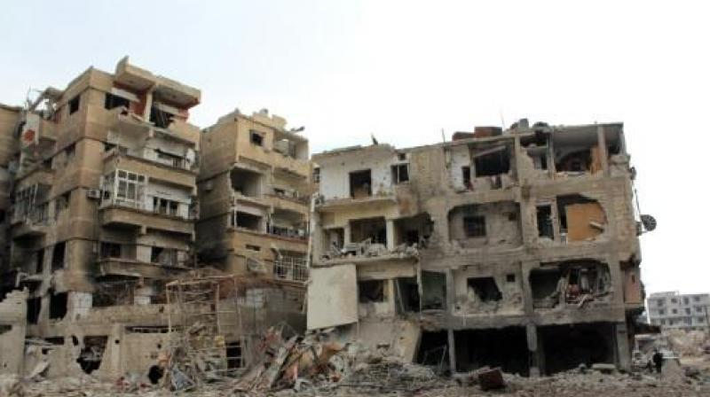 Daraya had a pre-war population of around 80,000 people but that has dropped by almost 90 percent, with remaining residents suffering from severe shortages and malnutrition (Photo: Representational Image)