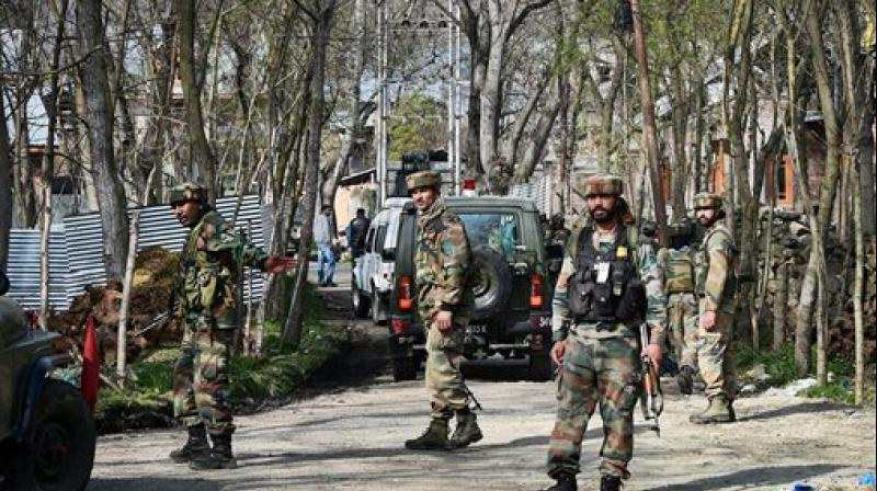 The search operation is underway in Pulwama to flush the remaining terrorists out (Photo: File | PTI)
