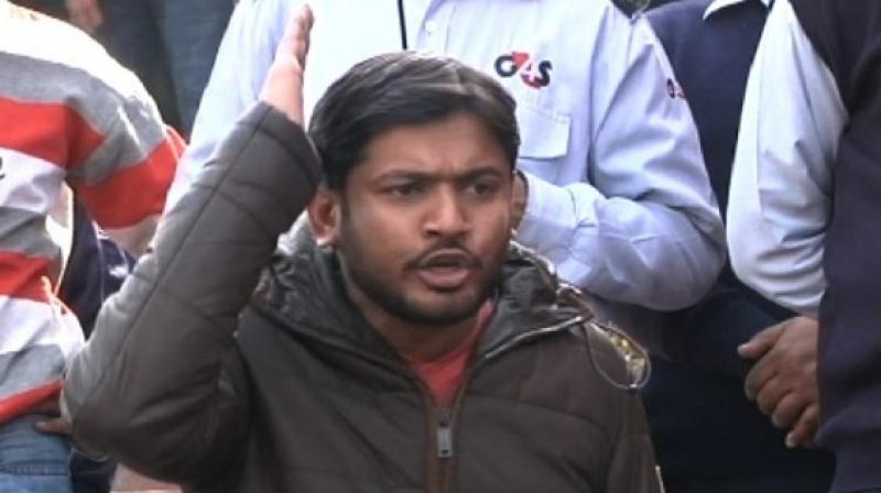 During interrogation, Kanhaiya Kumar maintained that he did not say anything seditious. (Photo: PTI)